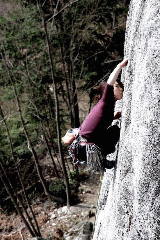Yorkshire Gripper 5.11c (Squamish, BC)