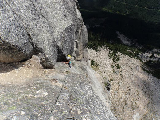 5.9 Off-width (Pitch 6)