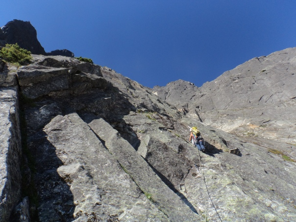 Me leading (pitch 5)