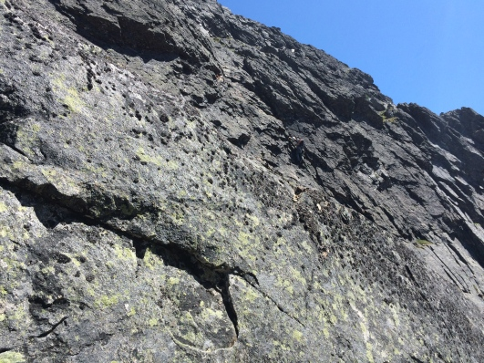 Summit wall (pitch 14)