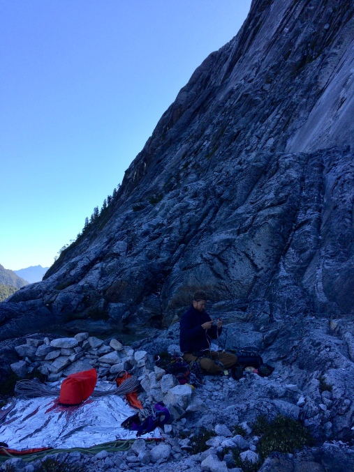 Bivy on King Ledge