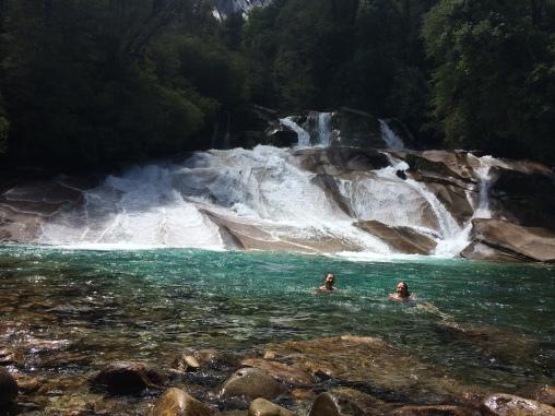 Tobogan (waterslide) near campground